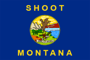 Shoot Montana Flag
